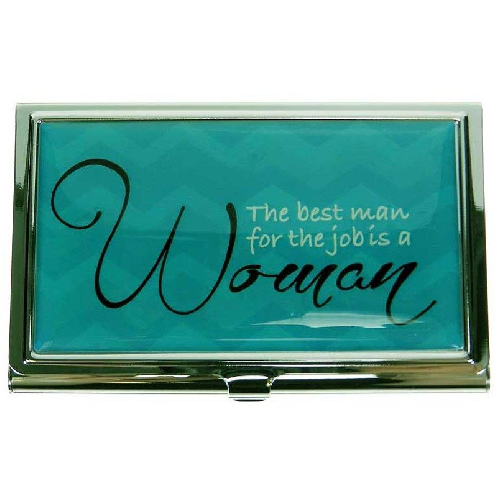 Business Card Case - Notable Quotes - Best Man for Job