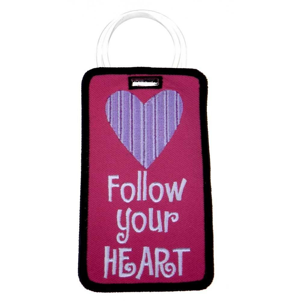 Not Just a Luggage Tag - Follow Your Heart