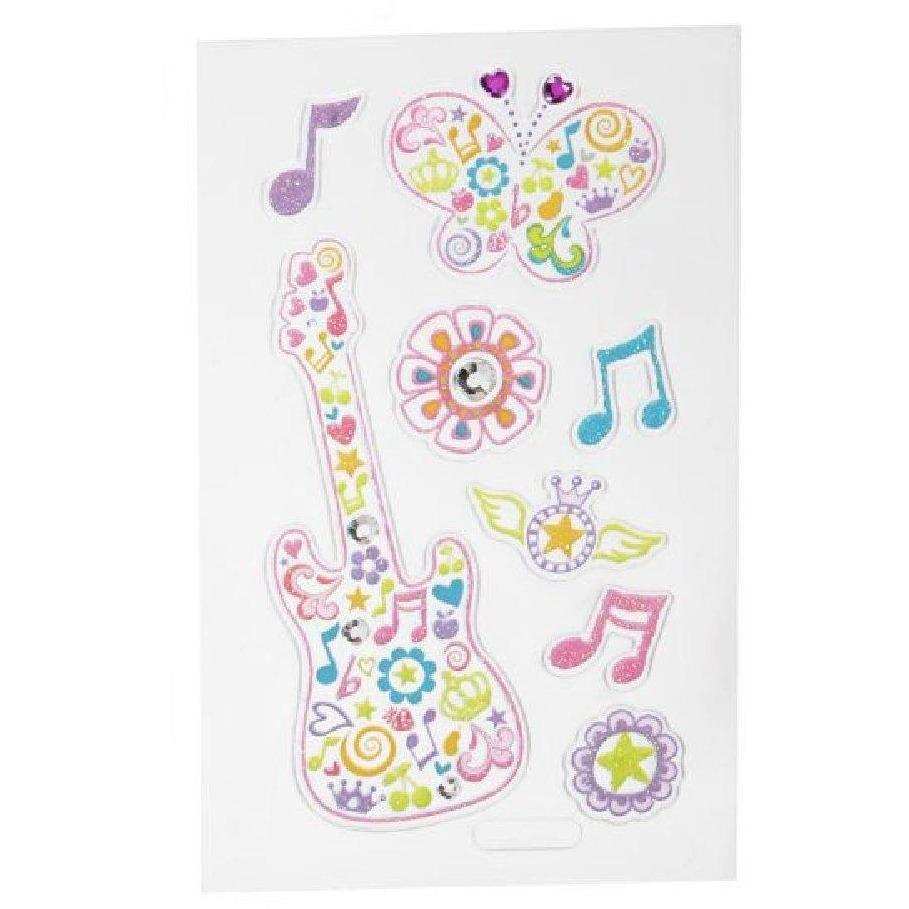 Cell Phone Stickers - Guitar