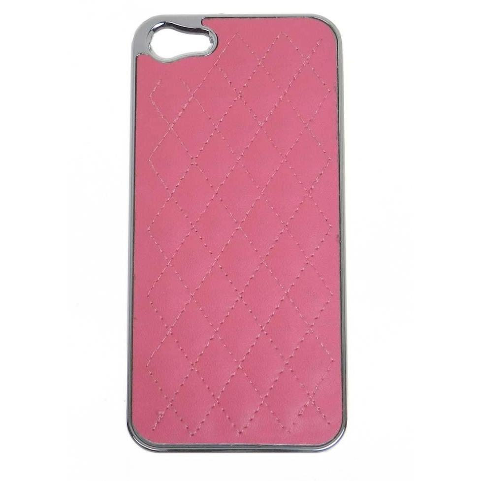 Quilted iphone case for iphone 5 - Hot Pink