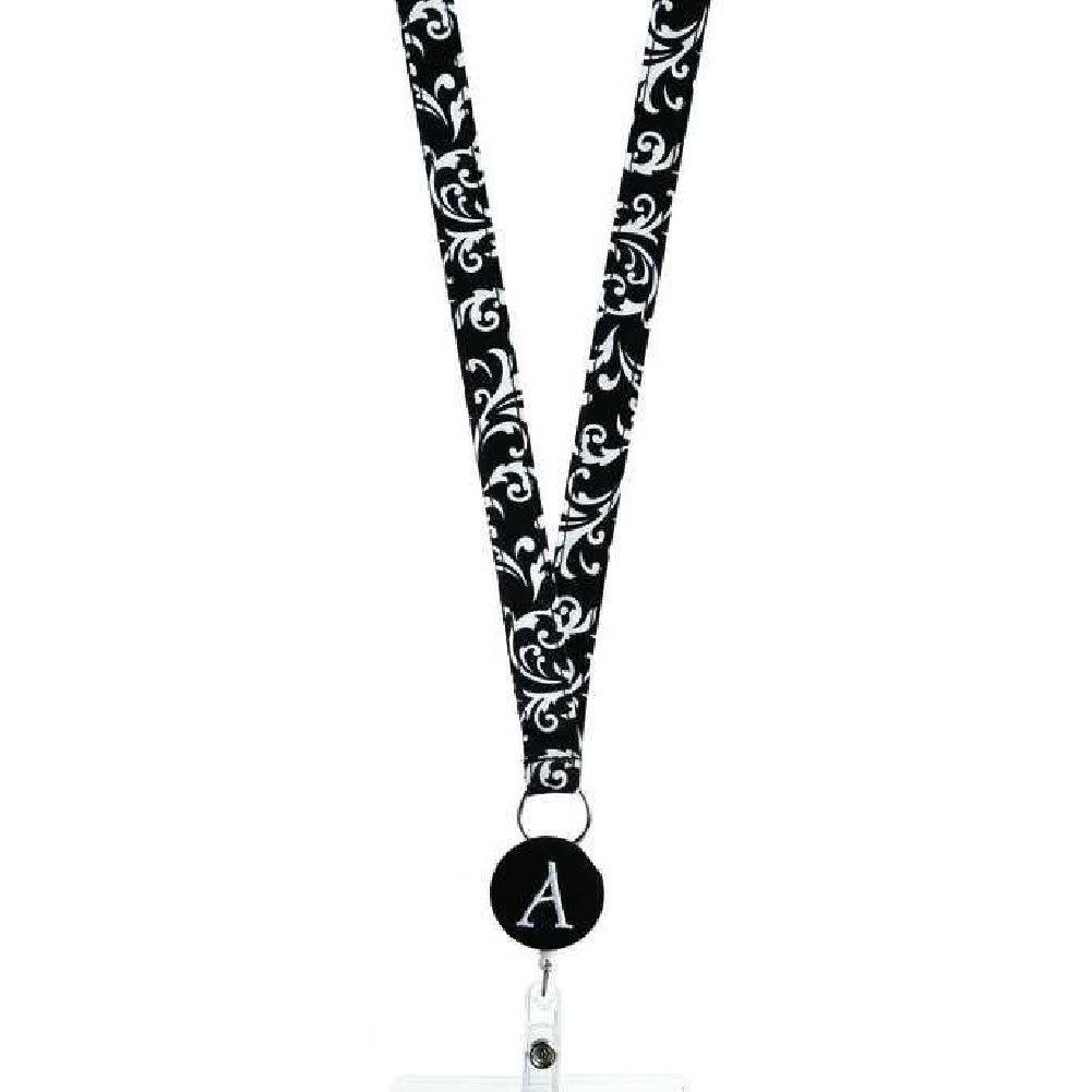Initially Hers Monogrammed ID Badge Reels-Lanyards