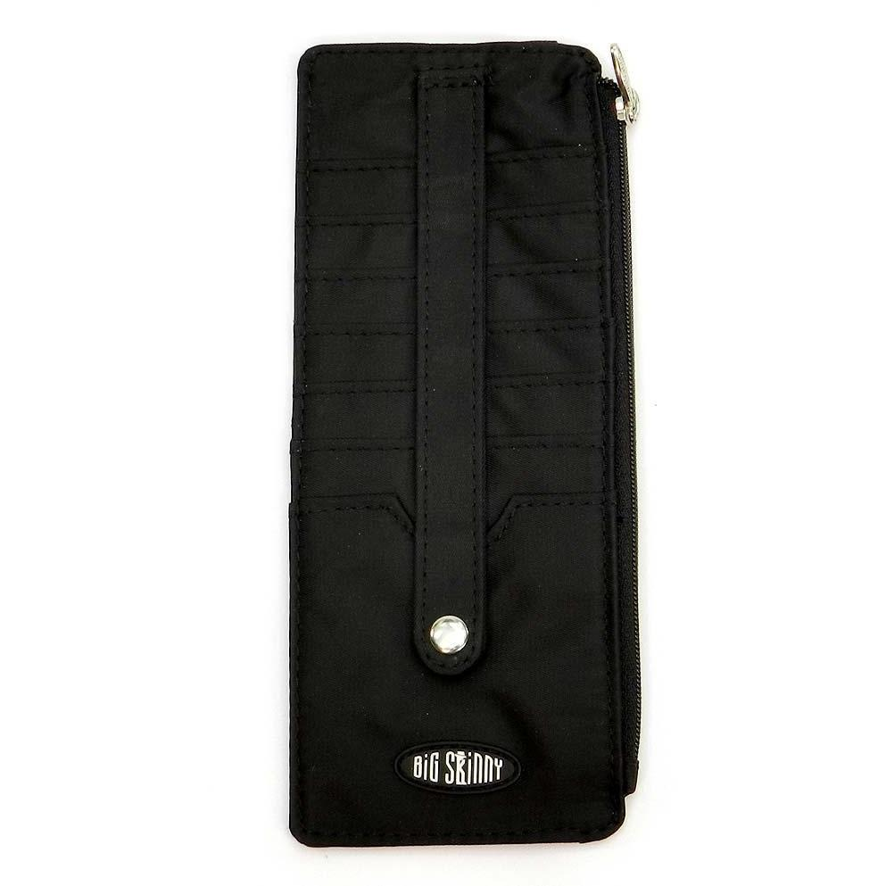 Big Skinny Jaguar Credit Card Wallet - Black