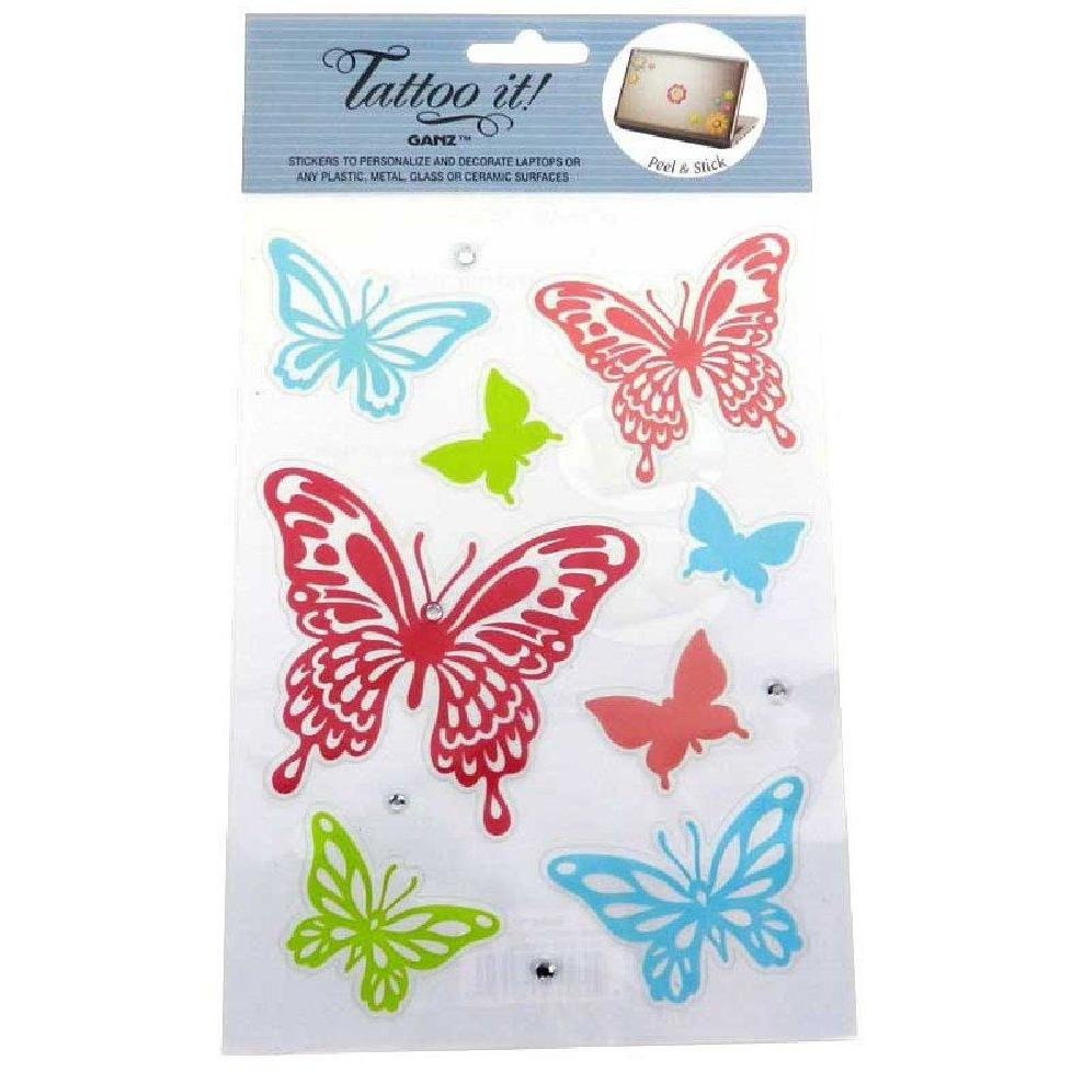 Stickers for tablets and laptops - More Butterflies