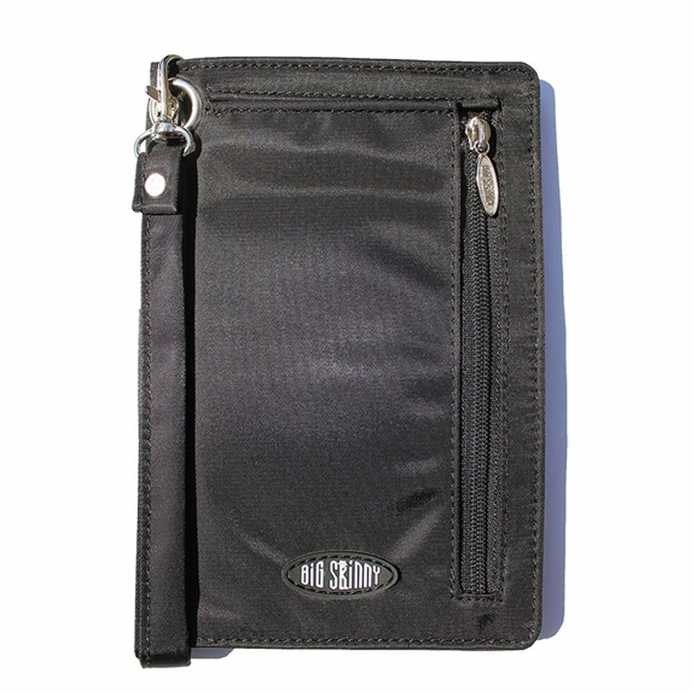 Big Skinny Plus-sized myPhone Cellphone Wallet Wristlet - Black