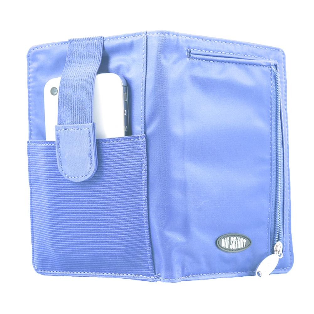 Big Skinny Plus-sized myPhone with Wristlet Cornflower Blue