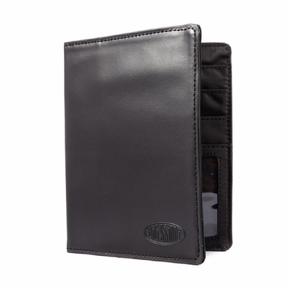 Big Skinny Passport Holder - Leather - Black