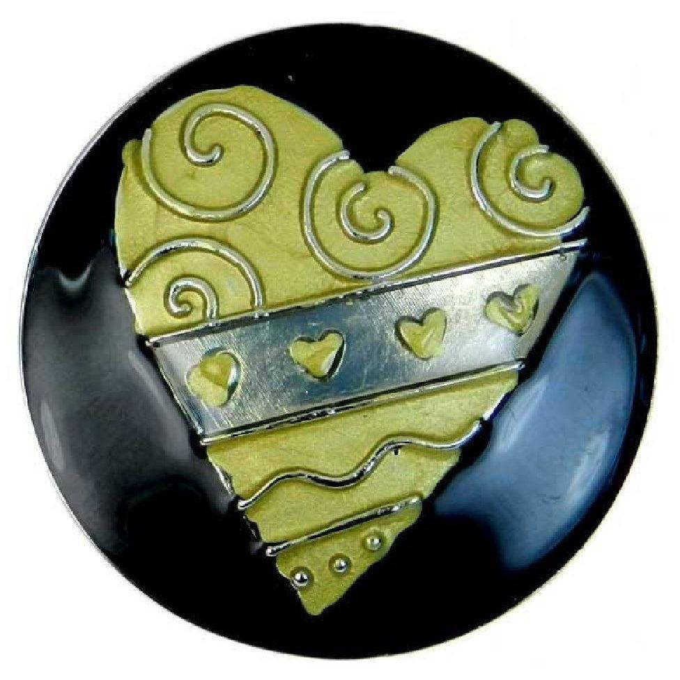 Deco Handbag Hook by Ganz - Artistic Heart