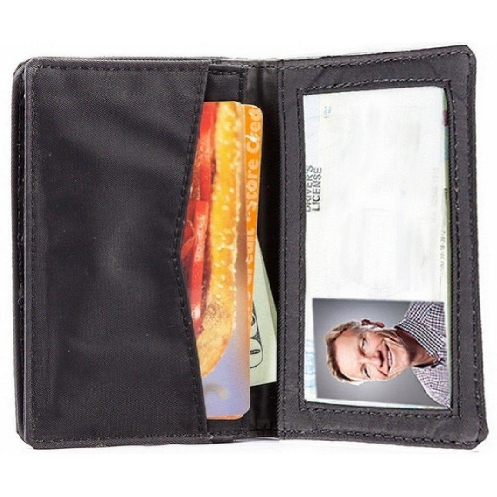 Big Skinny Card Case - RFID Blocking - Black
