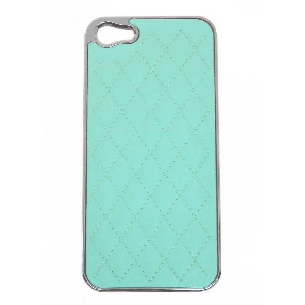 Quilted iphone case for iphone 5 - Sky Blue