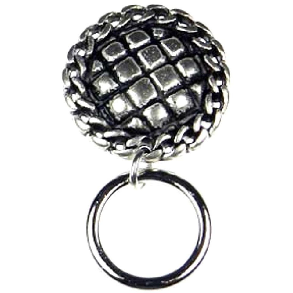 The Smart Pin - American Pie - Antique Silver Tone Magnetic Eyeglass Pin