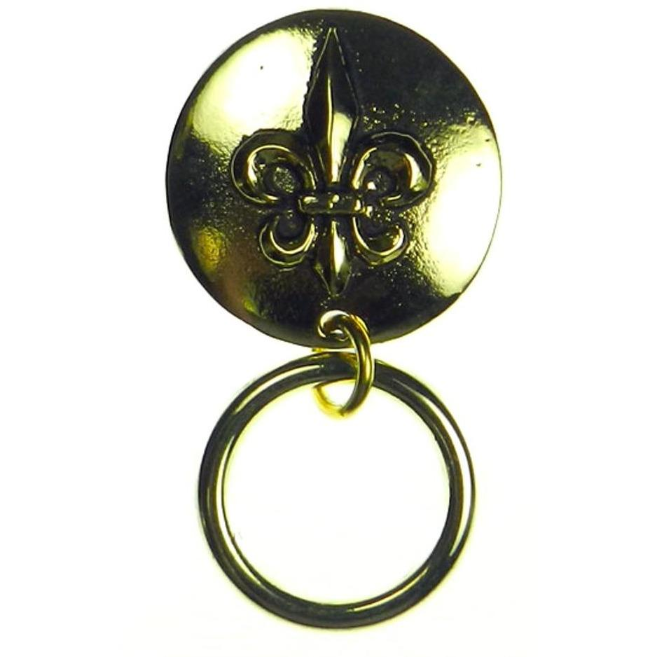 The Smart Pin - Fleur de Lys - Gold Tone Magnetic Eyeglass Pin