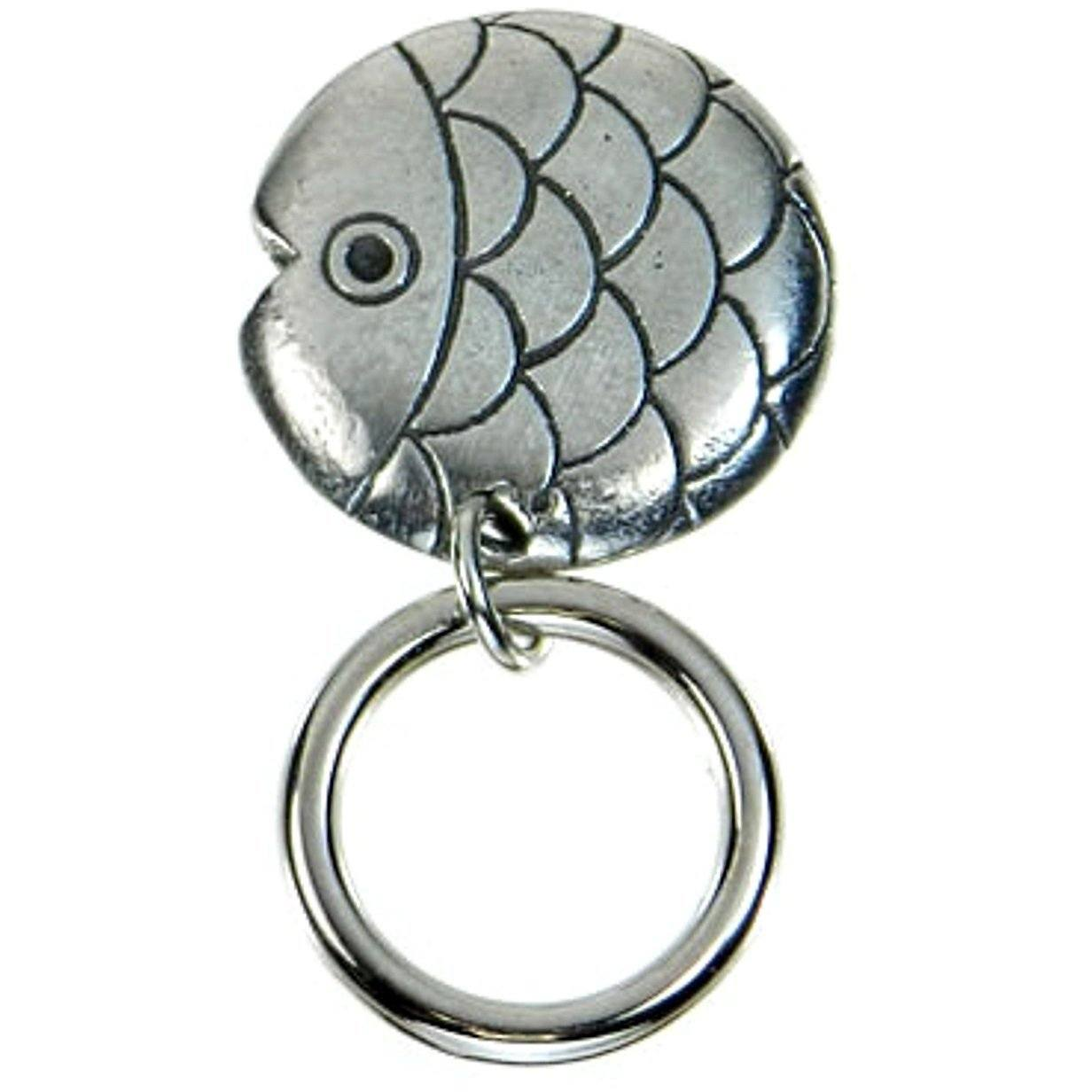The Smart Pin - Fish - Antique SilverTone Magnetic Eyeglass Pin