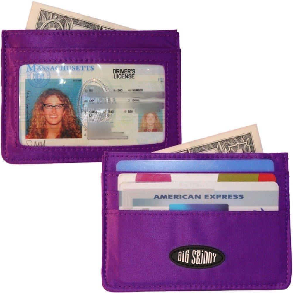 Big Skinny Mini Skinny Card Holder Purple