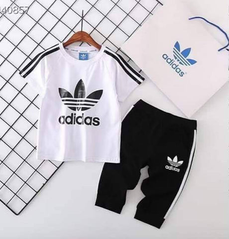 Adidas Black Jogger Set Original (Boys)