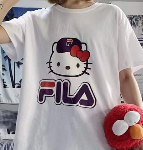 FILA Hello Kitty T-Shirt - White