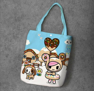 Tokidoki Canvas Tote Bag