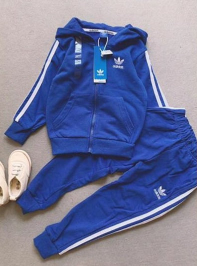 Adidas Jogger Set Blue Original (Boys)
