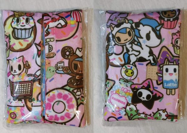 Handmade Tokidoki Travel Tissue Holders - Assorted Designs