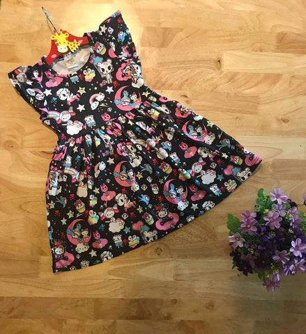 Super Comfy Drifit Dress - Tokidoki x HK (Girls)