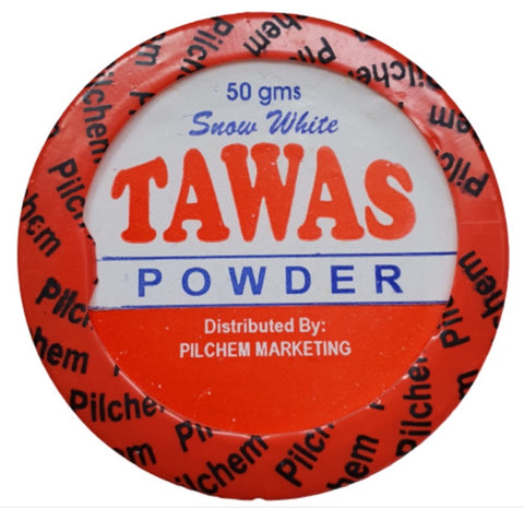 Snow White TAWAS Bright Whitening Deodorant Powder 50g