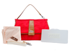 Cottage Clutch- Vineyard Red