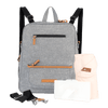 M.O.T.G. Max Convertible Backpack- Feathered Grey