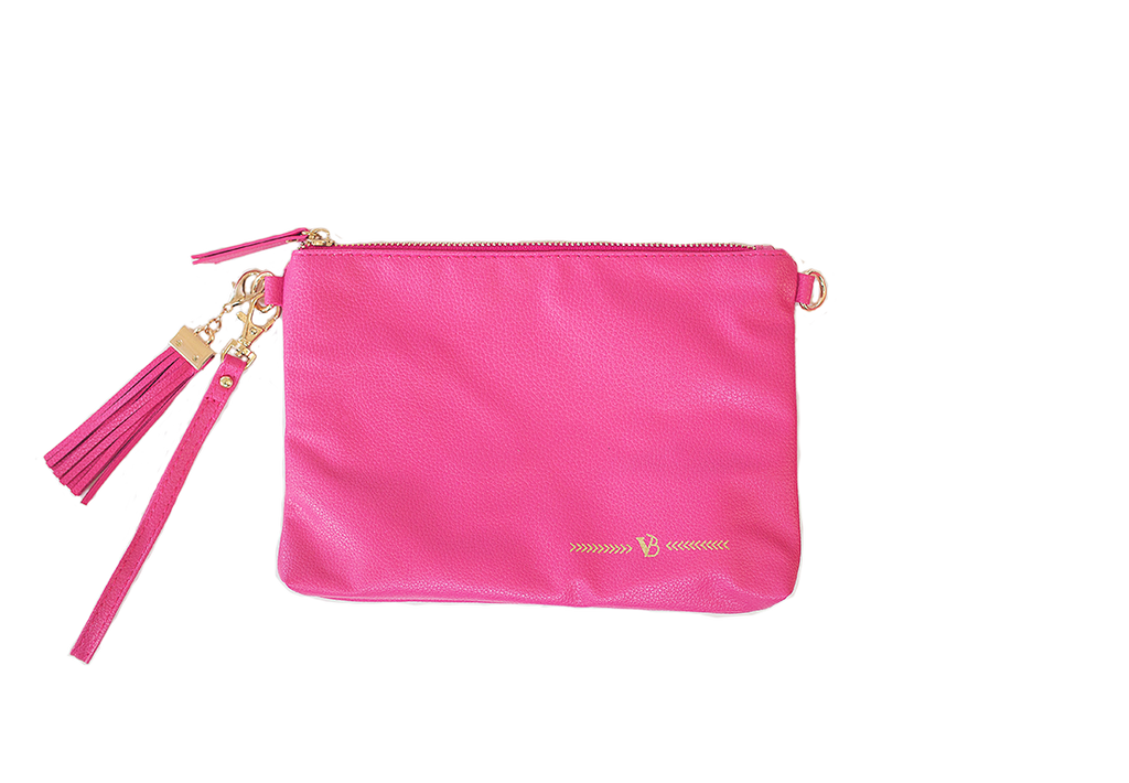 Simple Clutches- Raspberry