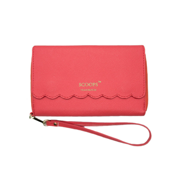 Scoops Wipes Wallet- With a Cherry on Top