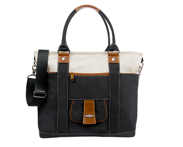 Dockside Tote- Riverstone Black