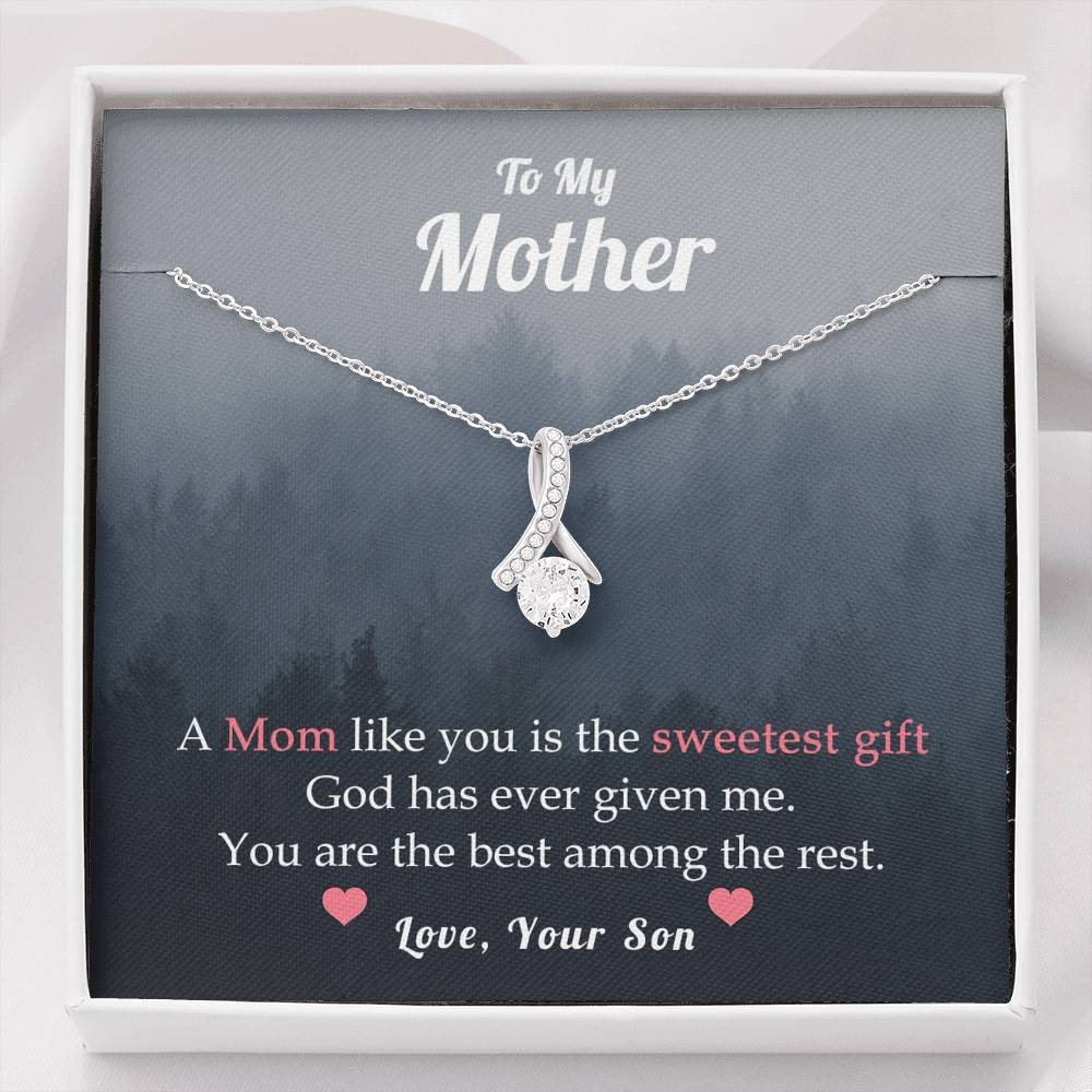 TO MY MOTHER - YOUR SON - SWEETEST GIFT - ALLURING BEAUTY - U Shop V Ship