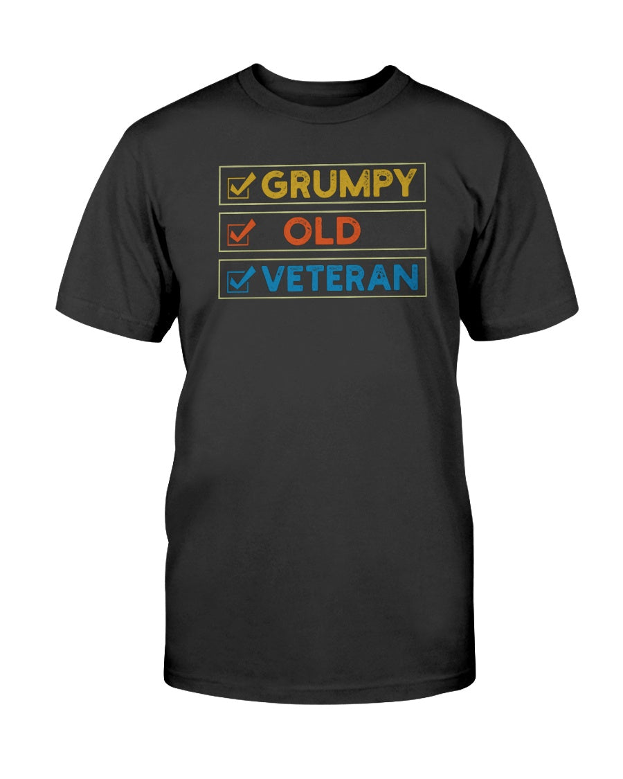 GRUMPY. OLD. VETERAN. - U Shop V Ship