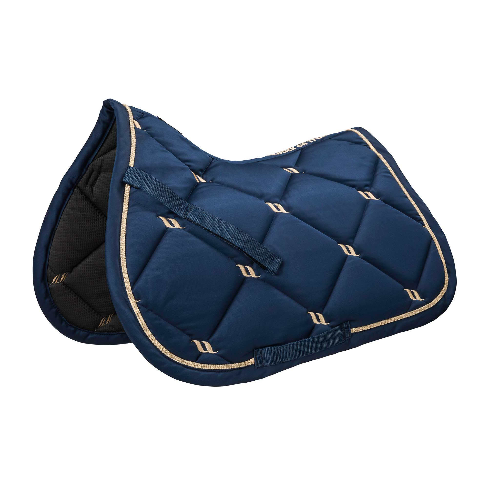 Nights Collection Saddle Pad Jumping Noble Blue