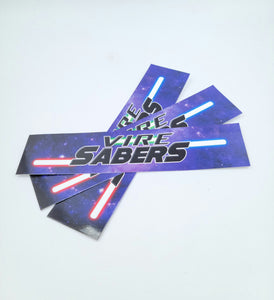 Vire Sabers Sticker Pack