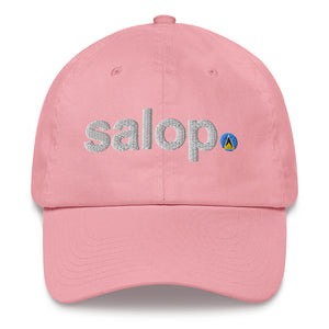 Salop Dad Hat (White)