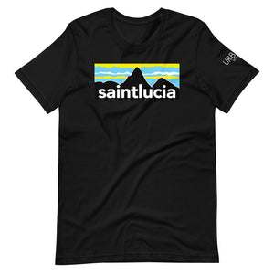 St. Lucia Pitons T-Shirt (Dark Colors)