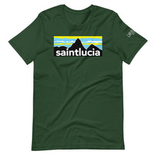 Load image into Gallery viewer, St. Lucia Pitons T-Shirt (Dark Colors)
