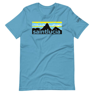 St. Lucia Pitons T-Shirt (Light Colors)