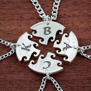 4 Best Friends Necklaces