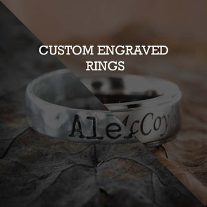 Custom Engraved Rings