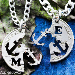 Anchors - Anchor Jewelry Personalized With Intials