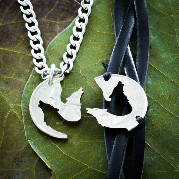 Wolf Best Friends Bracelet and Necklace