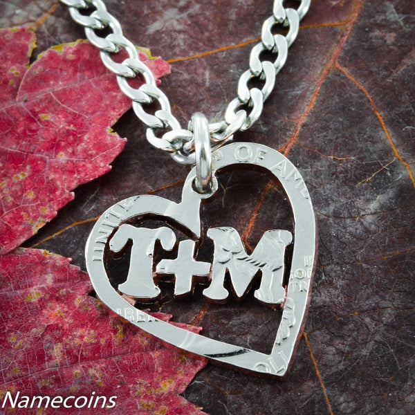 Custom Heart Necklace With Your Name Or Relationship
