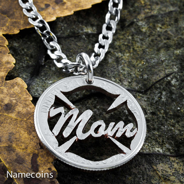 Firefighter Mom Necklace