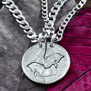 Fox Best Friends Jewelry, BFF Gifts, Foxy Lady Best Friends Forever Necklaces