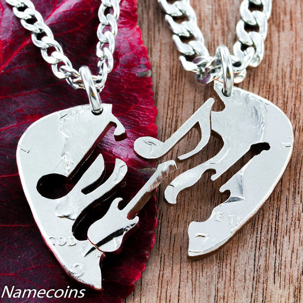 theater pick rock metal guitar necklace hard dream