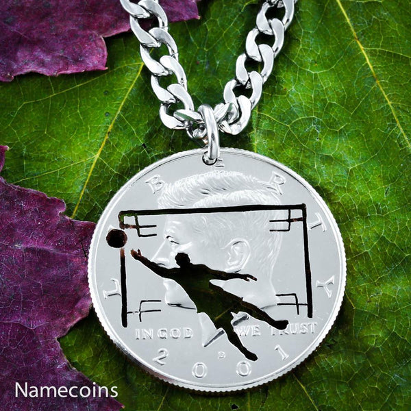 Mens And Womens Sports Necklaces - Soccer Goalie Necklace