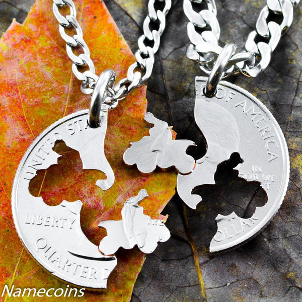 Motor Couples - Four Wheeler Necklace, Motocross Extreme Family Jewelry
