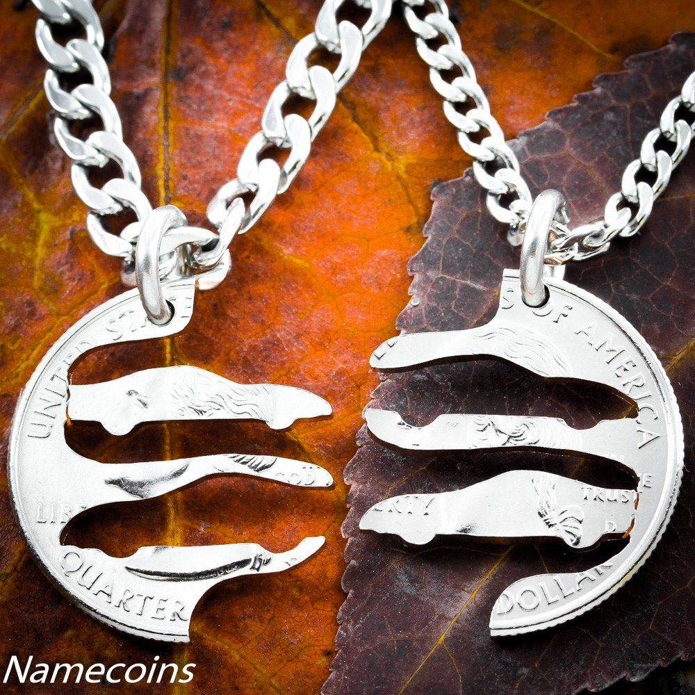 Race Car Couples Necklace, Nascar Racing