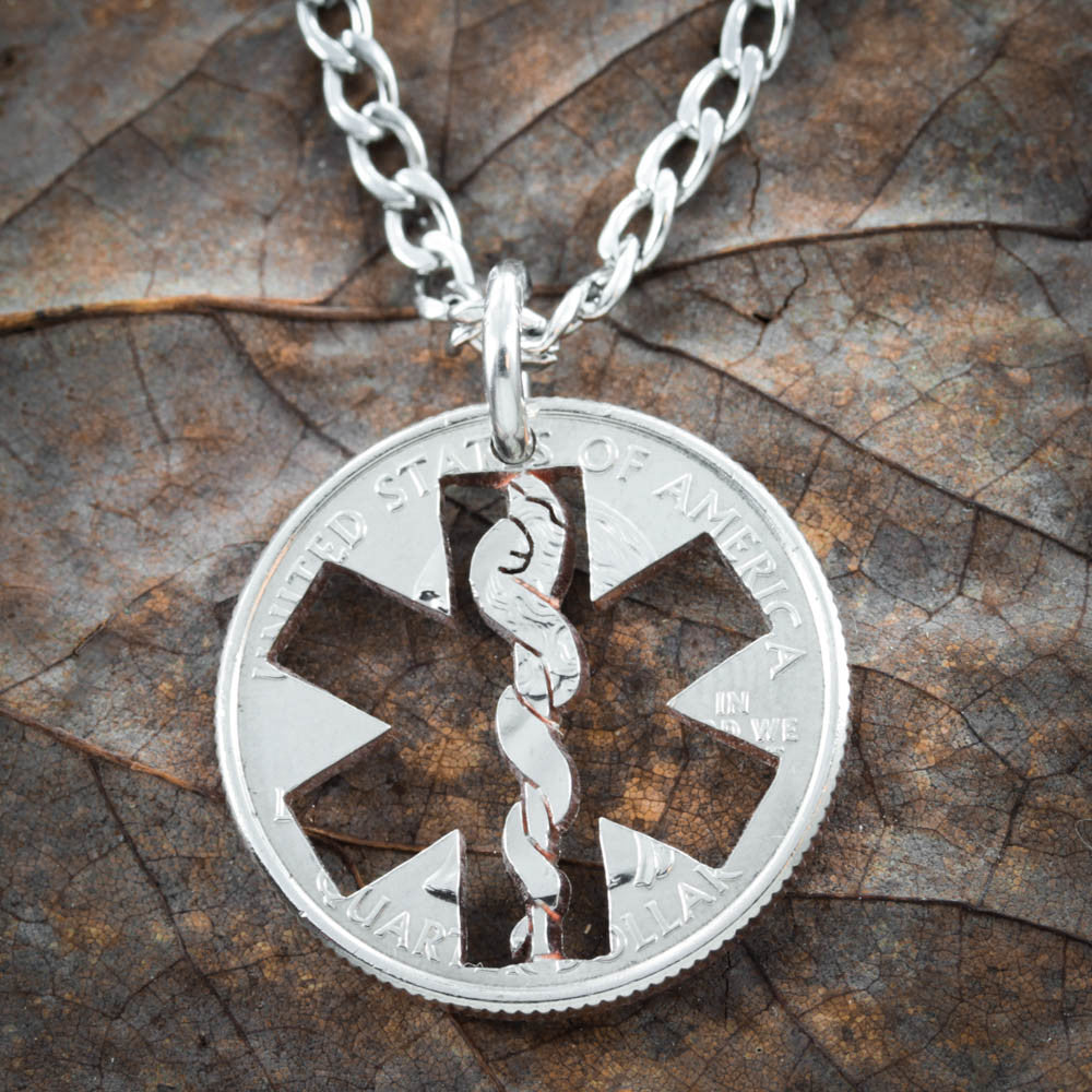 Nurse Necklace, Star Of Life Jewelry