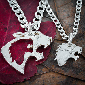 Tiger Best Friends necklaces, Relationship Jewelry